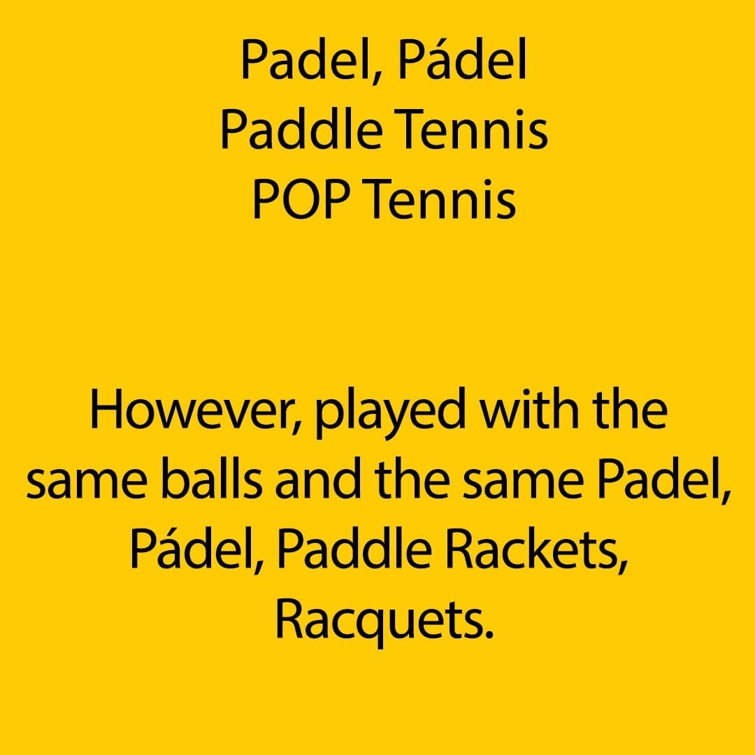 However, played with the same balls and the same Padel, Pádel, Paddle Rackets, Racquets 04