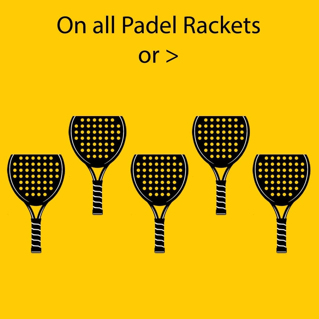 ILP I Love Padel 10% discount all Padel Rackets, Paddle Racquets, Palas de Pádel, Black Crown and Royal Padel 21-10-2019 02