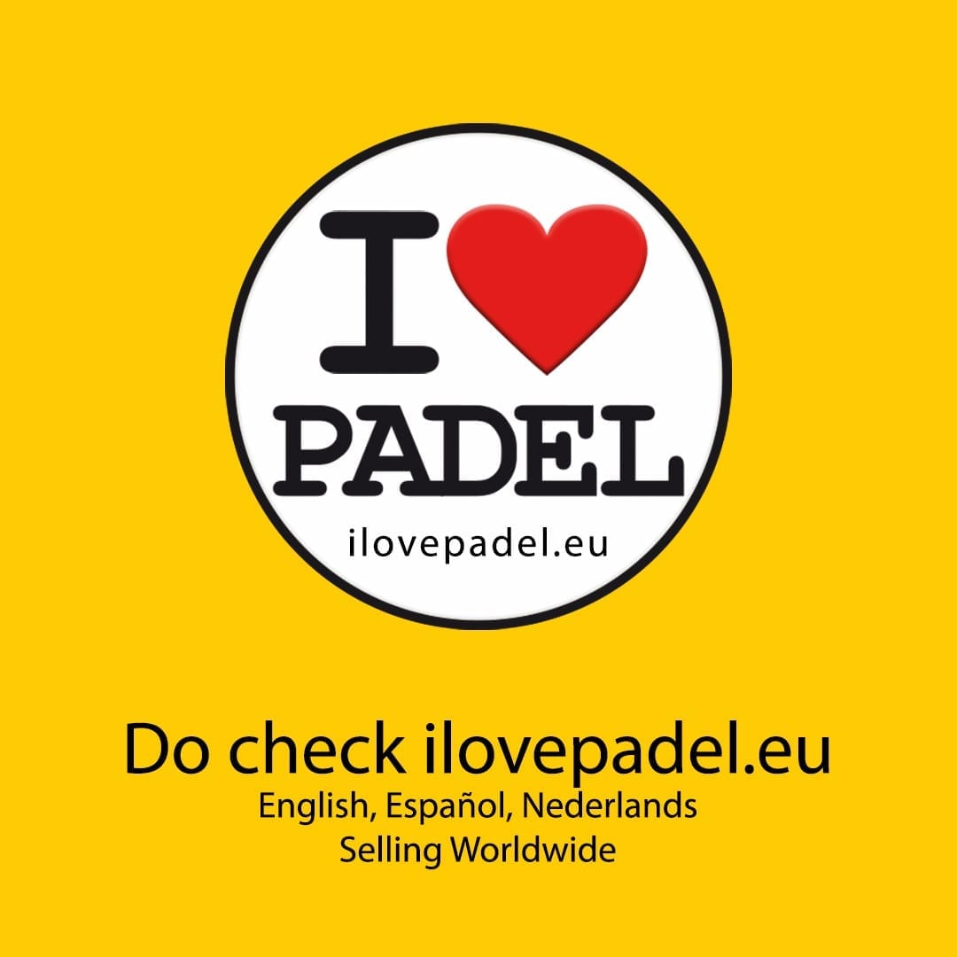 ILP I Love Padel 10% discount all Padel Rackets, Paddle Racquets, Palas de Pádel, Black Crown and Royal Padel 21-10-2019 05