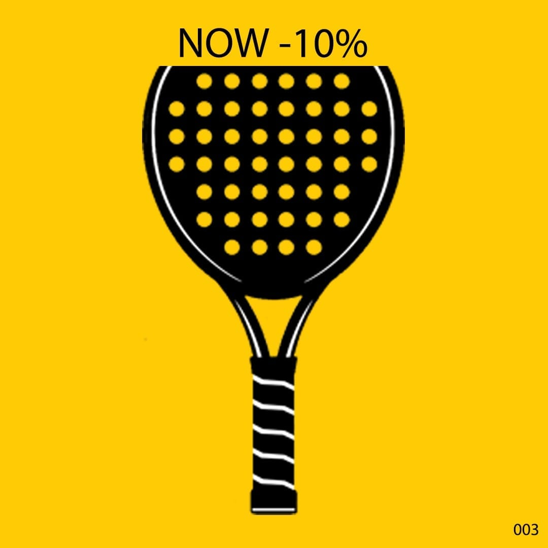 ILP I Love Padel 10% discount all Padel Rackets, Paddle Racquets, Palas de Pádel, Black Crown and Royal Padel 21-10-2019