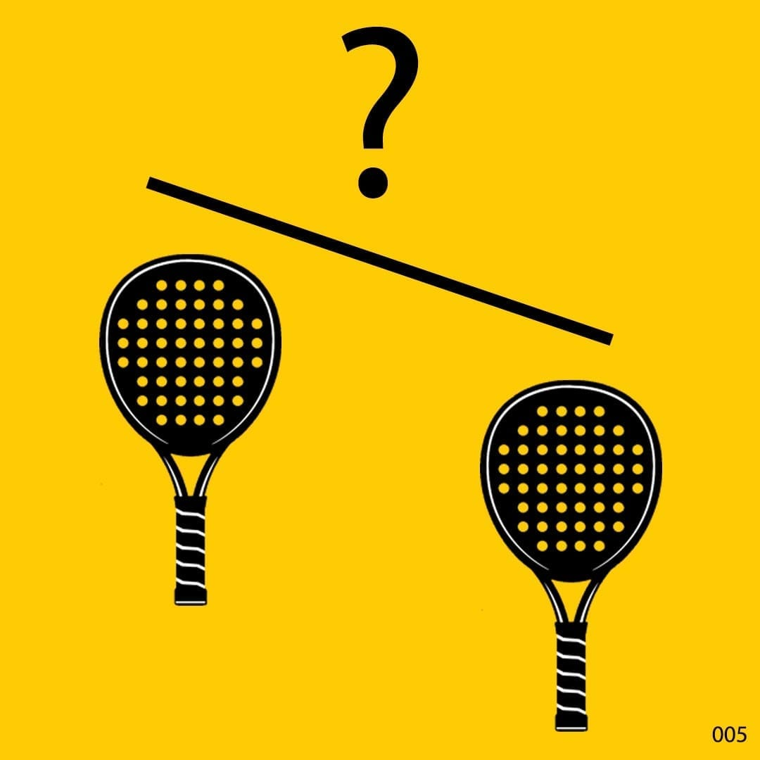I Love Padel what weight should my Padel Paddle racket racquet be 01
