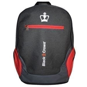Padel Backpack Bit Black Crown | Red 3