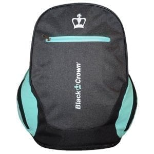 I Love Padel, Black Crown | Padel Backpack Bit | Gray-Turquoise 1