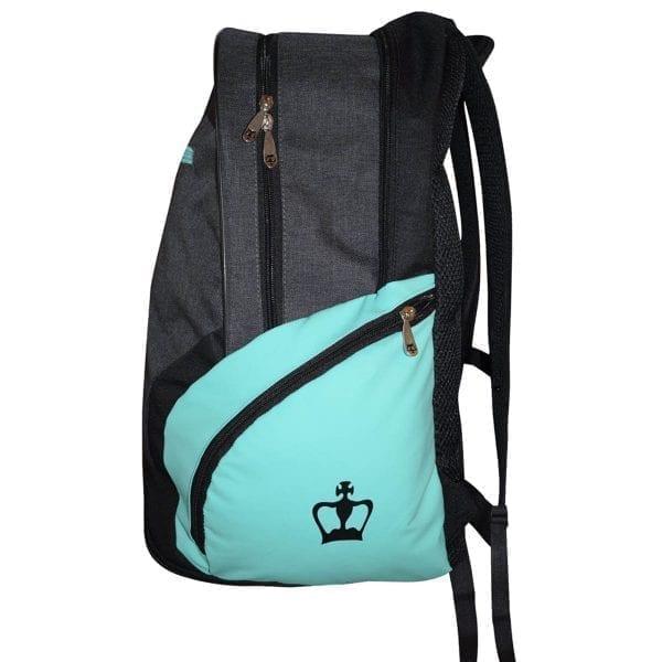 Padel Backpack Bit Black Crown   Gray-Turquoise 3