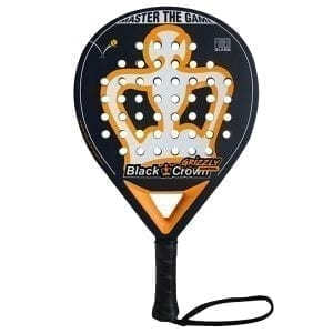Padel Racket Grizzly Control Black Crown | Level: Medium | Power 95%, Control 100%, 1