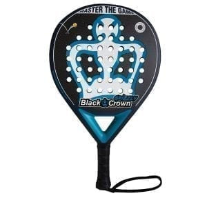 Padel Racket Grizzly 2021 Black Crown | Level: Advanced, Expert | Power 95%, Control 100%, 1