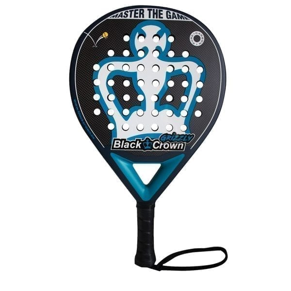 I Love Padel, Black Crown | Padel Racket Grizzly Black Crown | Level: Medium | Power 95%, Control 100%, 1