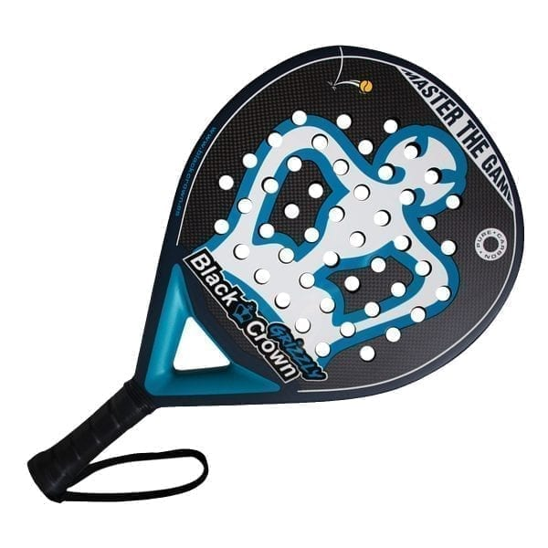 I Love Padel, Black Crown | Padel Racket Grizzly Black Crown | Level: Medium | Power 95%, Control 100%, 2