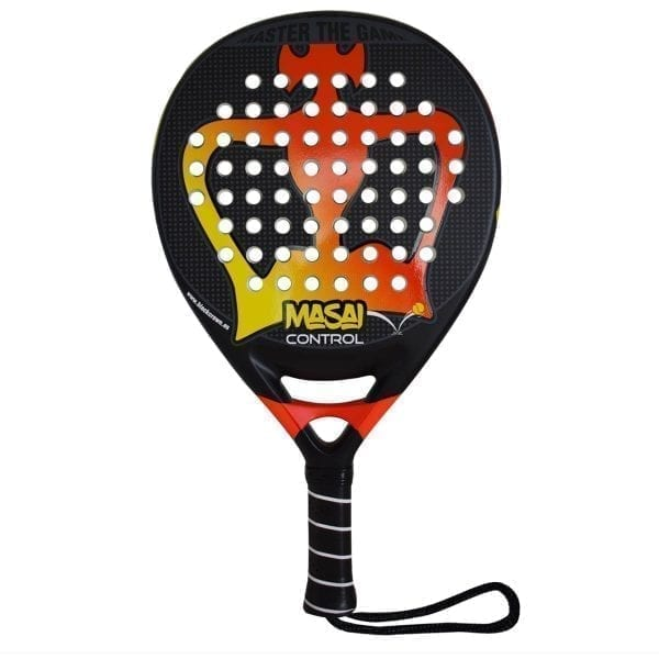 Padel Racket Masai Control Black Crown | Level: Advanced, Competition | Power 90%, Control 80%, 1