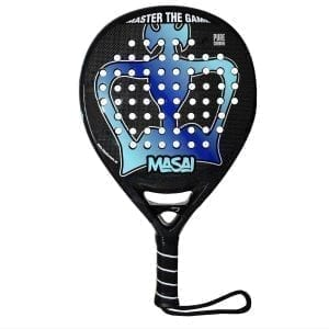 Padel Racket Masai 2020 Black Crown | Level: Advanced, Competition | Power 80%, Control 100%, 1