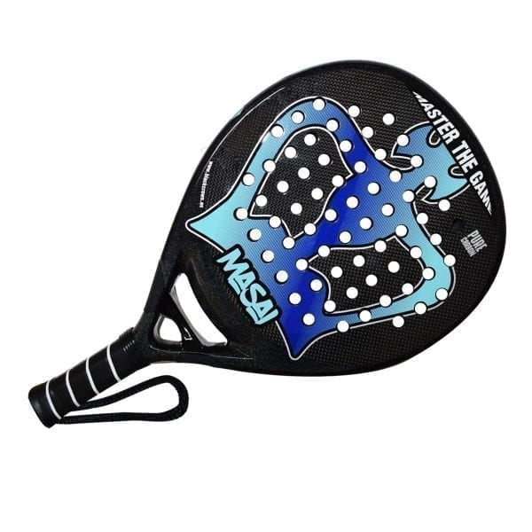 Padel Racket Masai 2020 Black Crown | Level: Advanced, Competition | Power 80%, Control 100%, 2
