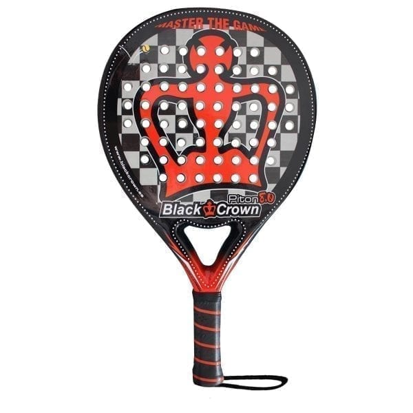 Black Crown | Padel Racket Piton 8.0 | Level: Advanced, Competition, Professional | Power 100%, Control 95%, 1