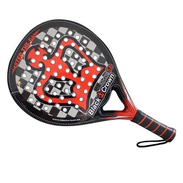 Black Crown | Padel Racket Piton 8.0 | Level: Advanced, Competition, Professional | Power 100%, Control 95%, 2