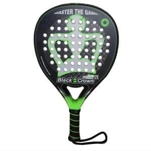 I Love Padel, Black Crown | Padel Racket Piton Attack 12k | Level: Advanced, Competition, Professional | Power 90%, Control 90%, 1
