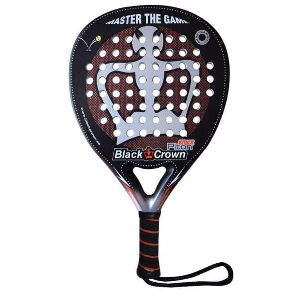 Padel Racket Piton Attack 2020 Black Crown | Level: Advanced, Competition | Power 90%, Control 90%, 1