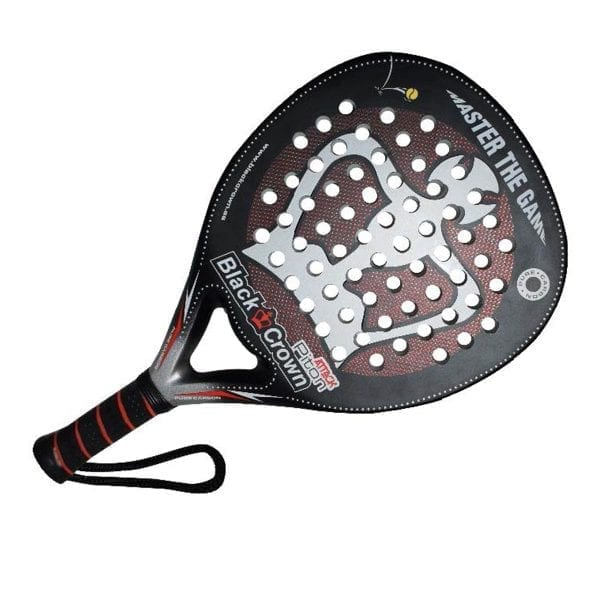 Padel Racket Piton Attack 2020 Black Crown | Level: Advanced, Competition | Power 90%, Control 90%, 2