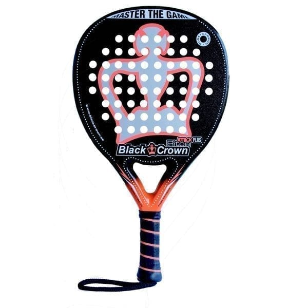 Padel Racket Piton Attack Plus |Black Crown Level: Advanced, Competition, Professional | Power 95%, Control 90%, 1