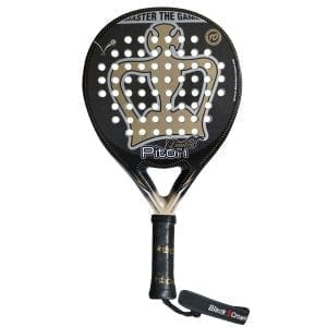 I Love Padel, Black Crown | Padel Racket Piton Limited | Level: Professional | Power 95%, Control 100%, 1
