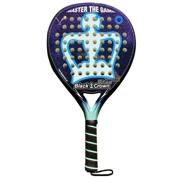 Padel Racket Piton Nakano 3k, Black Crown | Level: Advanced, Competition, Professional | Power 95%, Control 90%, 1