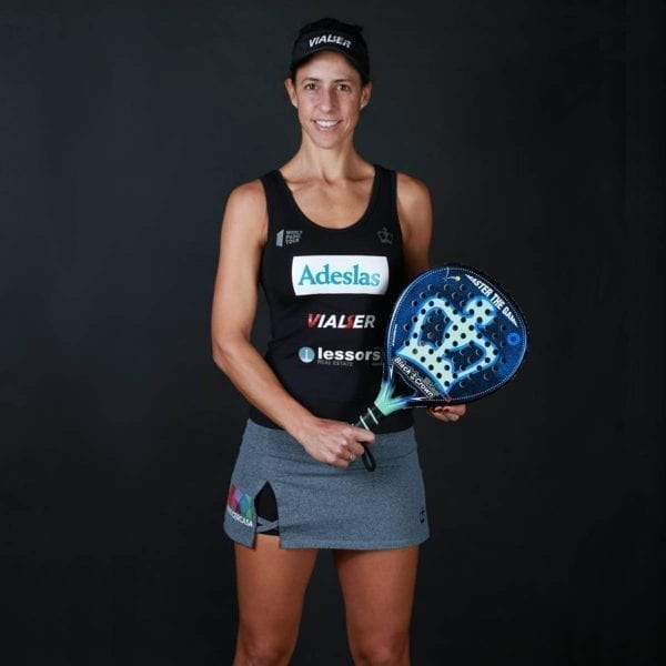 Padel Racket Piton Nakano 3k, Black Crown | Level: Advanced, Competition, Professional | Power 95%, Control 90%, Marta Marrero WPT number 1. 3 Adeslas, Vialser, Lessers