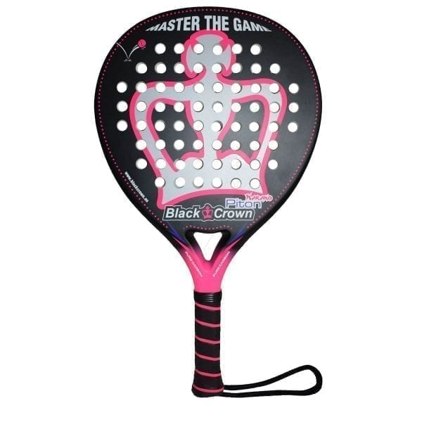I Love Padel, Black Crown | Padel Racket Piton Nakano | Level: Advanced, Competition, Professional | Power 95%, Control 90%, 1