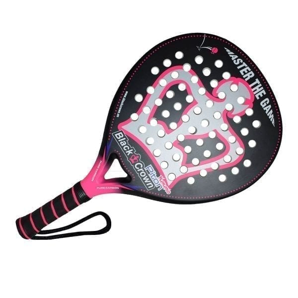 I Love Padel, Black Crown | Padel Racket Piton Nakano | Level: Advanced, Competition, Professional | Power 95%, Control 90%, 2