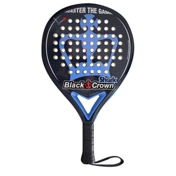 Black Crown | Padel Racket Shark | Level: Medium | Power 80% Control 90%, 1