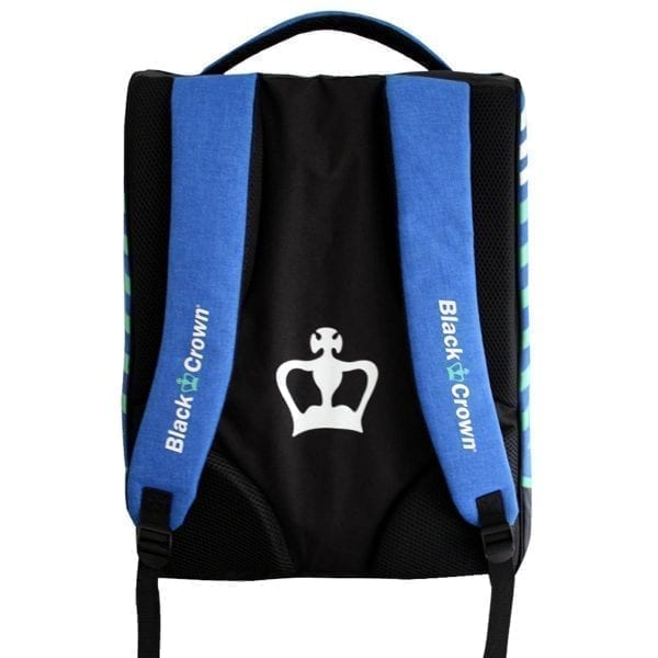 Padel Sports bag / Backpack Work Black Crown | Blue 3