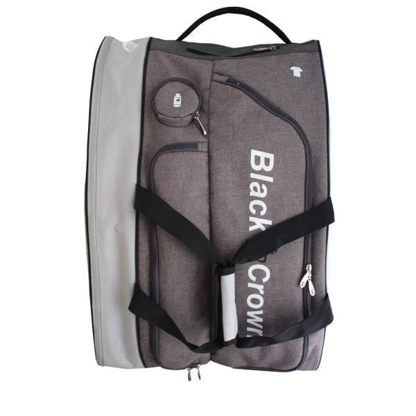 Padel Sports bag / Backpack Calm Black Crown | Grey and Black 2