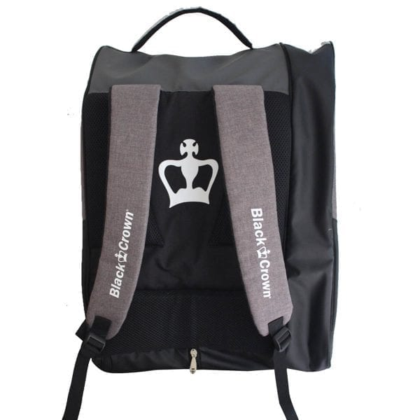 Padel Sports bag / Backpack Calm Black Crown | Grey and Black 3
