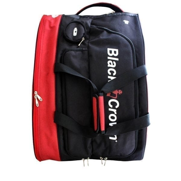 Padel Sports bag / Backpack Calm Black Crown | Red 2