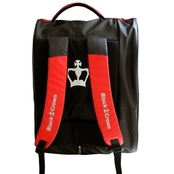 Padel Sports bag / Backpack Calm Black Crown | Red 3