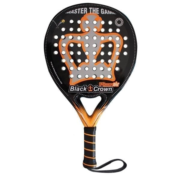 I Love Padel, Black Crown | Padel Racket Piton Air | Level: Advanced, Competition, Professional | Power 95%, Control 100%, 1