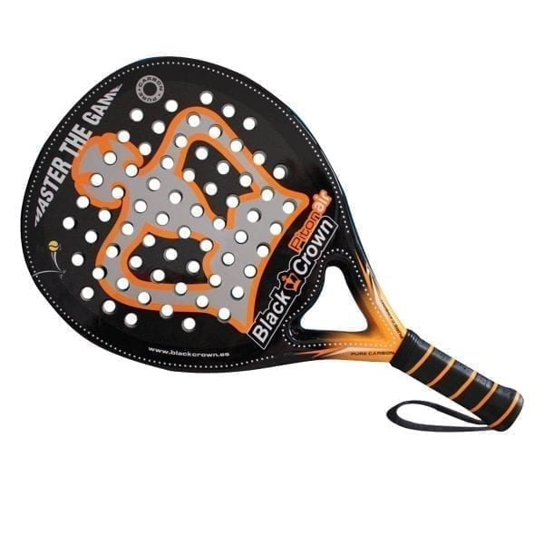 I Love Padel, Black Crown | Padel Racket Piton Air | Level: Advanced, Competition, Professional | Power 95%, Control 100%, 2
