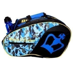 Thermal Padel Sports / Backpack Bag Tron Black Crown | Military Blue 1