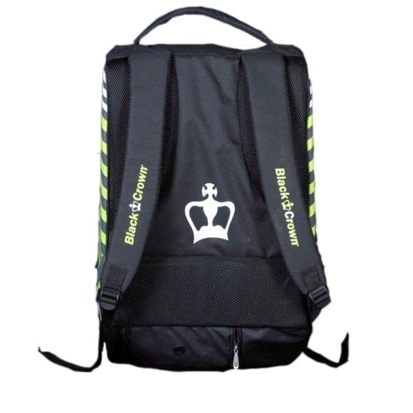 Thermal Padel Sports bag / Backpack Work Black Crown | Grey and fluor Green 3