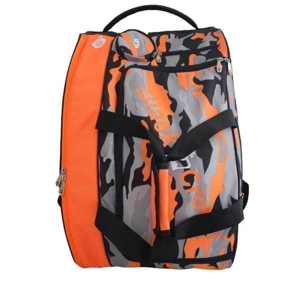 Thermal Padel Sports bag / Backpack Work Black Crown | Orange and Military print 2