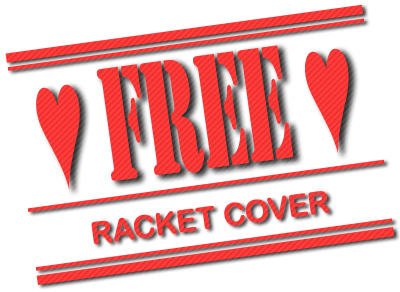 I Love Padel, Exclusive, Free Padel Racket Cover