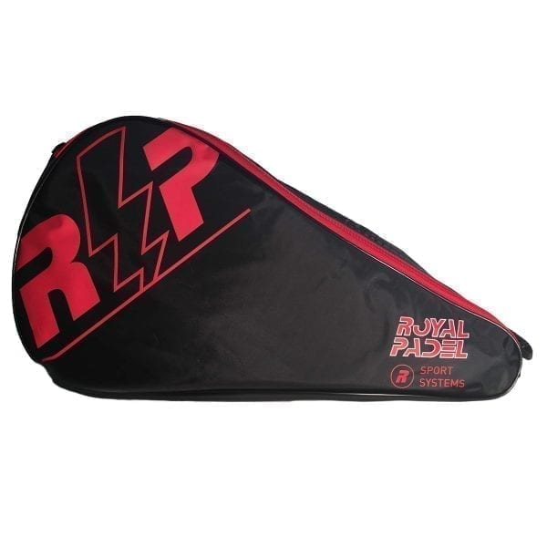 Padel Racket Cover, Royal Padel | Red and Black 1