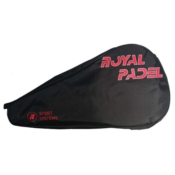 Padel Racket Cover, Royal Padel | Red and Black 2