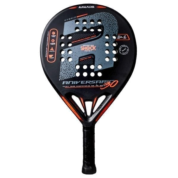 Padel Racket RP Aniversario Hybrid 2020, Royal Padel | Level: Advanced, Competition, Professional | Power 90%, Control 90% 1