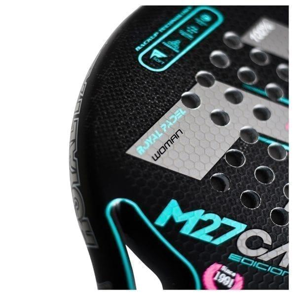 Padel Racket RP M27 Woman Edicón Limitada 2020, Royal Padel   Level: Advanced, Competition, Professional   Power 95%, Control 95% 3