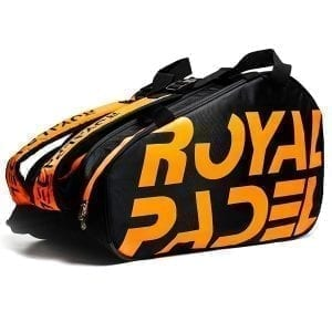 Thermal Padel Sports bag / Backpack, Royal Padel | Orange and Black 1