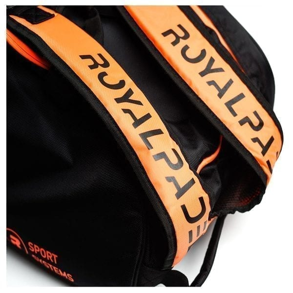 Thermal Padel Sports bag / Backpack, Royal Padel | Orange and Black 2
