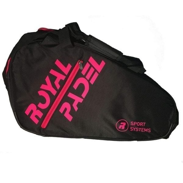 Thermal Padel Sports bag / Backpack, Royal Padel | Pink and Black 2