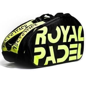 Thermal Padel Sports bag / Backpack, Royal Padel | Yellow and Black 1