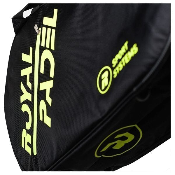 Thermal Padel Sports bag / Backpack, Royal Padel | Yellow and Black 2