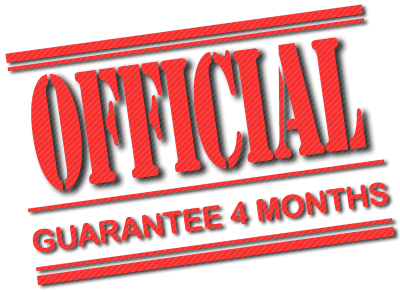 Official Factory Guarantee of 4 months for Padel Rackets
