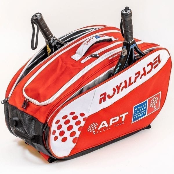 Super Combi Thermal Padel Sports Bag, Red and White, Royal Padel 01