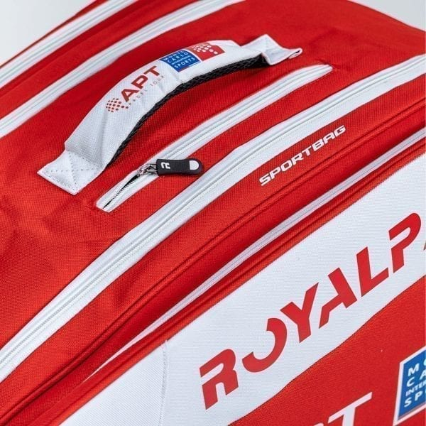 Super Combi Thermal Padel Sports Bag, Red and White, Royal Padel 03
